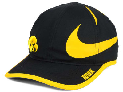 Iowa Hawkeyes Nike NCAA Big Swoosh Adjustable Cap