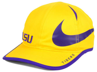 LSU Tigers Nike NCAA Big Swoosh Adjustable Cap