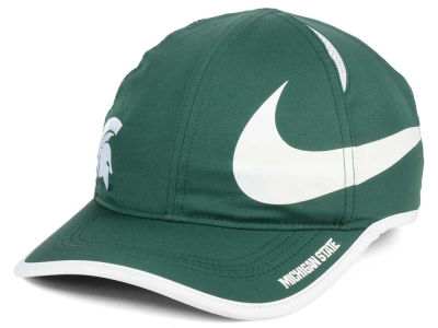 Michigan State Spartans Nike NCAA Big Swoosh Adjustable Cap