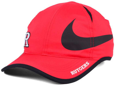 Rutgers Scarlet Knights Nike NCAA Big Swoosh Adjustable Cap