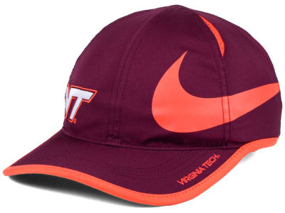 Virginia Tech Hokies Nike NCAA Big Swoosh Adjustable Cap