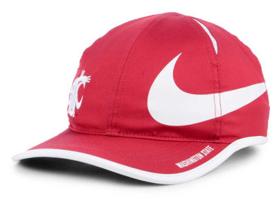 Washington State Cougars Nike NCAA Big Swoosh Adjustable Cap