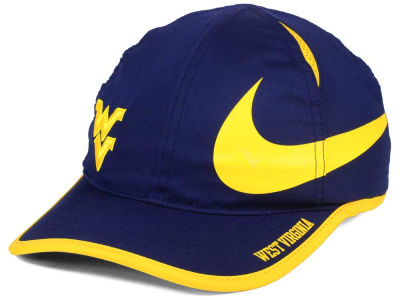 West Virginia Mountaineers Nike NCAA Big Swoosh Adjustable Cap