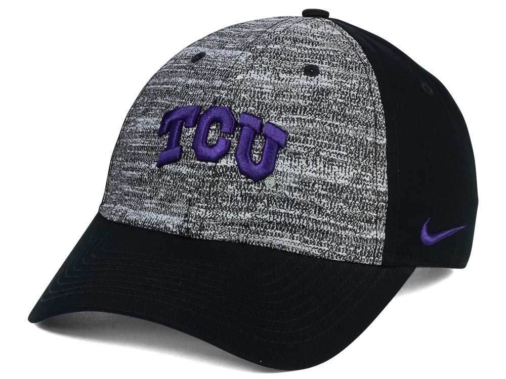 best loved f5722 0a17f ... sale texas christian horned frogs nike ncaa h86 heathered cap 05934  cbf9f