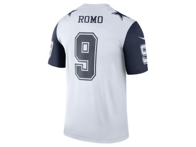 Dallas Cowboys Tony Romo Nike NFL Men's Legend Color Rush Jersey
