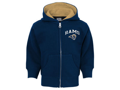 Los Angeles Rams NFL Infant Pledge Full Zip Hoodie