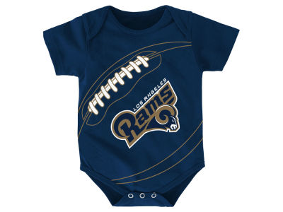 Los Angeles Rams Outerstuff NFL Infant Fanatic Football Creeper