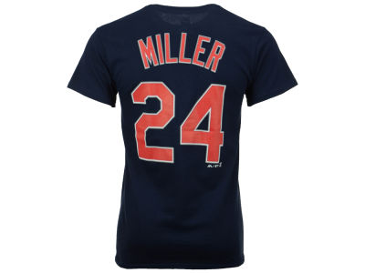 Cleveland Indians Andrew Miller Majestic MLB Men's Official Player T-Shirt