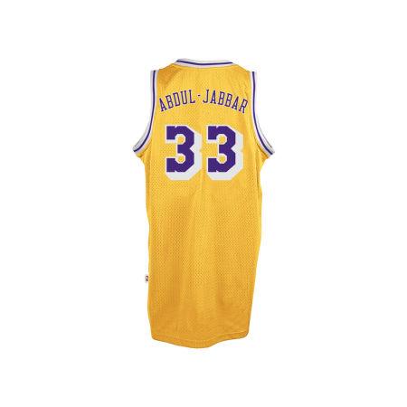 Los Angeles Lakers Kareem Abdul-Jabbar Adidas Originals NBA Men's Retired Player Swingman Jersey