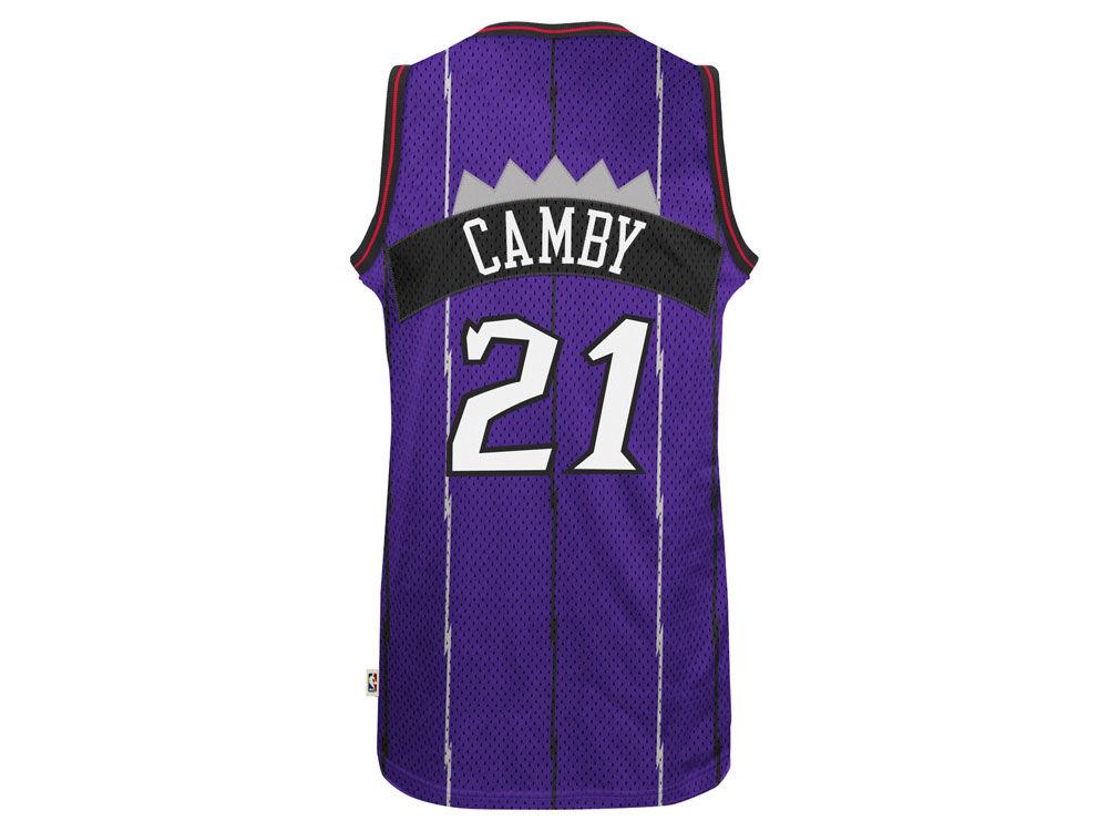 Toronto Raptors Marcus Camby adidas NBA Men s Retired Player Swingman  Jersey  b909ea0b3