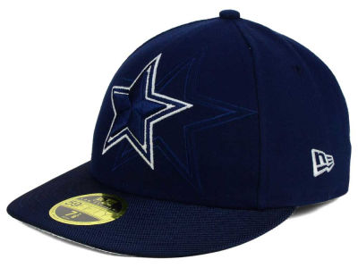 Dallas Cowboys New Era NFL Sideline Low Profile 59FIFTY Cap