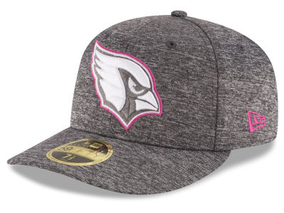 Arizona Cardinals New Era NFL Breast Cancer Awareness Low Crown 59FIFTY Cap