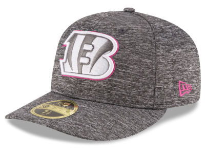 Cincinnati Bengals New Era NFL Breast Cancer Awareness Low Crown 59FIFTY Cap