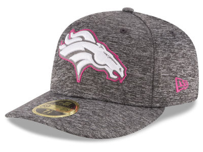 Denver Broncos New Era NFL Breast Cancer Awareness Low Crown 59FIFTY Cap