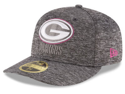 Green Bay Packers New Era NFL Breast Cancer Awareness Low Profile 59FIFTY Cap