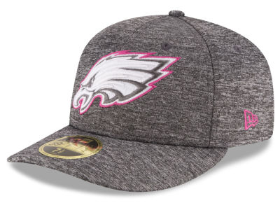 Philadelphia Eagles New Era NFL Breast Cancer Awareness Low Crown 59FIFTY Cap