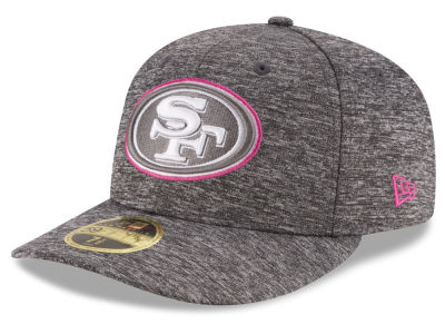 San Francisco 49ers New Era NFL Breast Cancer Awareness Low Crown 59FIFTY Cap
