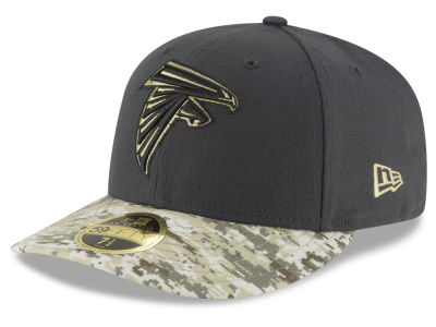 Atlanta Falcons New Era NFL Salute to Service Low Crown 59FIFTY Cap