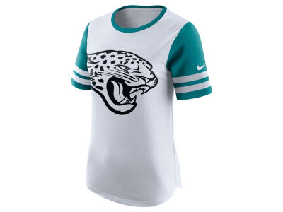 Jacksonville Jaguars Nike NFL Womens Gear Up Fan Top T-Shirt