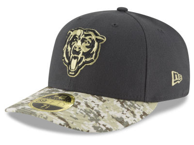 Chicago Bears New Era NFL Salute to Service Low Crown 59FIFTY Cap