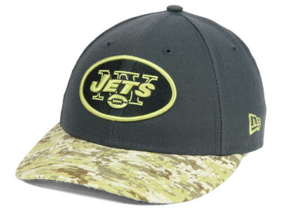 New York Jets New Era NFL Salute to Service Low Crown 59FIFTY Cap