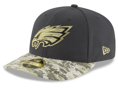 Philadelphia Eagles New Era NFL Salute to Service Low Crown 59FIFTY Cap