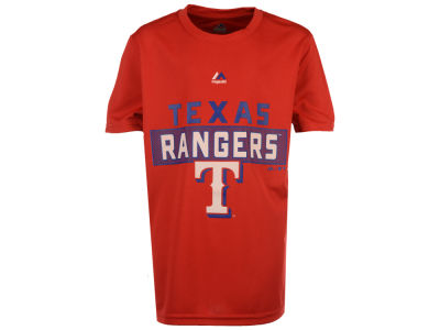 Texas Rangers MLB Youth Block T-Shirt