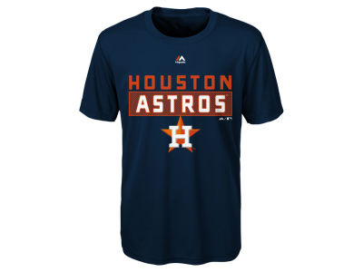 Houston Astros Majestic MLB Youth Block T-Shirt
