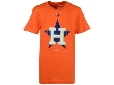 Houston Astros MLB Youth Primary Logo T-Shirt