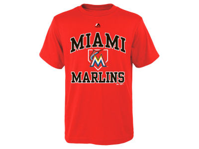 Miami Marlins Outerstuff MLB Youth Hit and Run T-Shirt