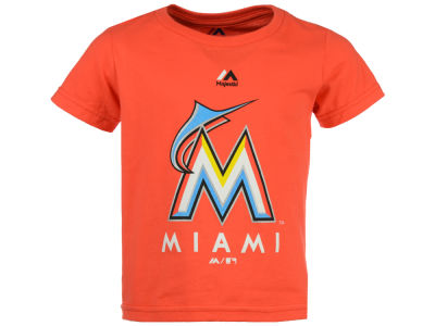 Miami Marlins Majestic MLB Toddler Primary Logo T-Shirt