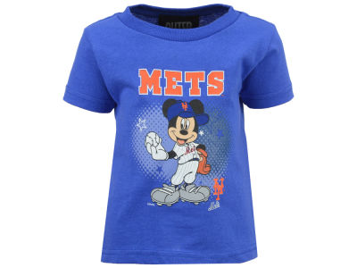 New York Mets MLB Infant Mickey Stars T- Shirt