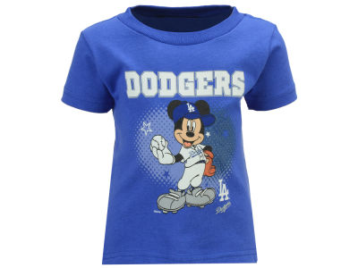Los Angeles Dodgers MLB Infant Mickey Stars T- Shirt