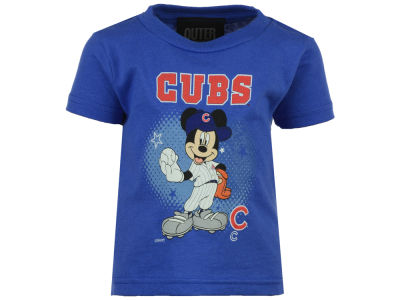 Chicago Cubs Outerstuff MLB Infant Mickey Stars T- Shirt