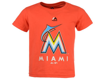Miami Marlins Majestic MLB Kids Primary Logo T-Shirt