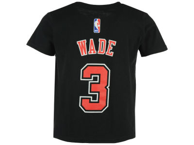 Chicago Bulls Dwayne Wade NBA Kids Name And Number T-Shirt