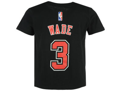 Chicago Bulls Dwyane Wade NBA Toddler Name And Number T-Shirt