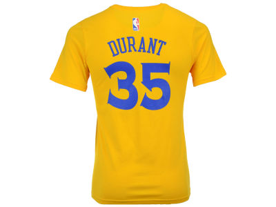 Golden State Warriors Kevin Durant NBA Youth Name And Number T-Shirt