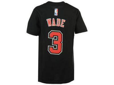 Chicago Bulls Dwyane Wade adidas NBA Youth Name And Number T-Shirt