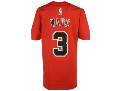 Chicago Bulls Dwayne Wade NBA Youth Name And Number T-Shirt