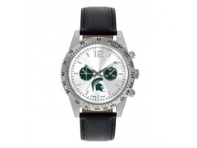 Michigan State Spartans Letterman Watch