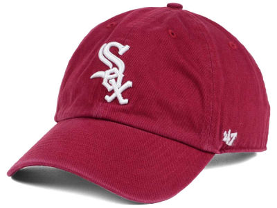 Chicago White Sox '47 MLB Cardinal and White '47 CLEAN UP Cap