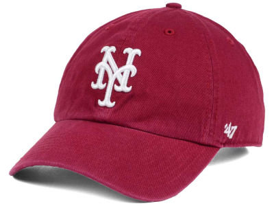 New York Mets '47 MLB Cardinal and White '47 CLEAN UP Cap