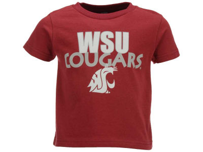 Washington State Cougars Atlanta Hosiery NCAA Toddler Wordmark T-Shirt