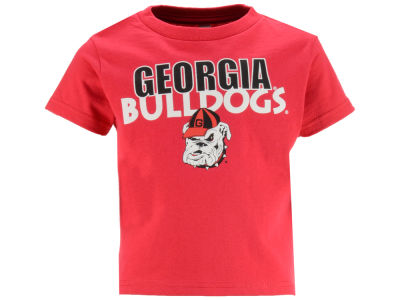 Georgia Bulldogs Atlanta Hosiery NCAA Toddler Wordmark T-Shirt