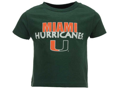 Miami Hurricanes Atlanta Hosiery NCAA Toddler Wordmark T-Shirt