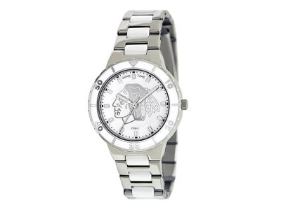 Chicago Blackhawks Pearl Series Ladies Watch