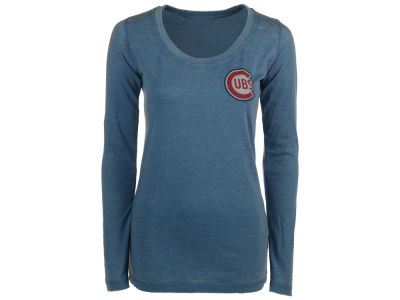Chicago Cubs MLB Women's Midland Long Sleeve T-Shirt