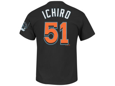 Miami Marlins Ichiro Suzuki MLB Men's Commemorative Player T-Shirt
