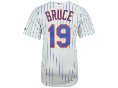 New York Mets Jay Bruce Majestic MLB Men's Player Replica CB Jersey